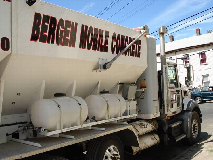 Concrete Delivery - Mobile Concrete Mixer Truck New Jersey   Bergen
